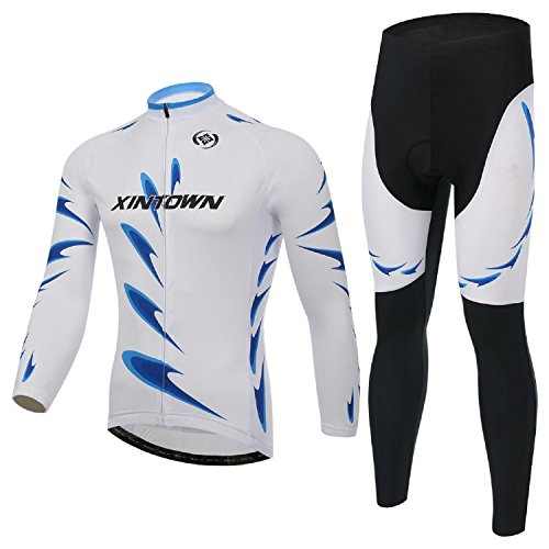 xintown rock Men's Cycling Long Sleeve Jacket Bicycle Shirt Cycling Clothing T-Shirts Cycling Jersey (Rock Cycling Jersey compare prices)