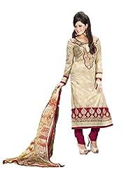 DivyaEmporio Women's Salwar Suit Dupatta Unstitched Dress Material (Free Size) - B00S7QA4PA