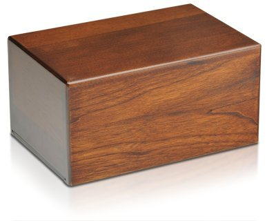 The Urnco.Exclusive Economy Wooden Urn Box - Small (Cremation Box Urns compare prices)