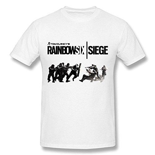 Treask Koyee Men's Tom Clancy's Rainbow Six Siege Poster T-Shirt