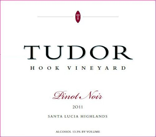 2011 Tudor Wines Hook Vineyard Pinot Noir Santa Lucia Highlands 750 Ml