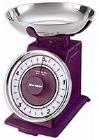 Karcher 130086 Bilancia meccanica retro da cucina colore: Lilla