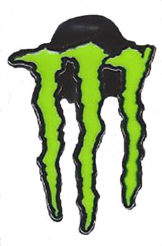 Monster Energy Logo Racing Pin Back For Lapel Hat Cap (Monster Hats Energy compare prices)