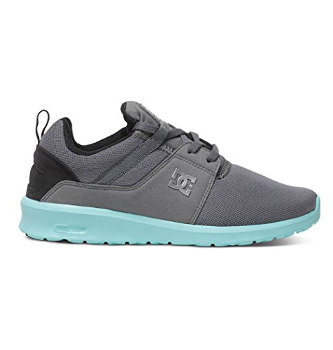 DC ShoesHeathrow J - Sneaker Donna , Grigio (Gris (Grey/Black/Blue)), 37