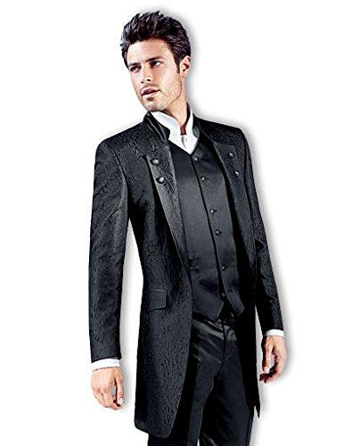 tziacco royal gehrock anzug mit weste fb schwarz. Black Bedroom Furniture Sets. Home Design Ideas