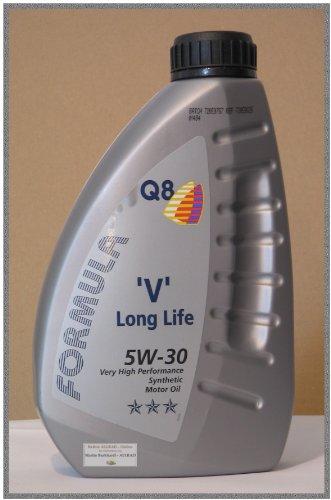 Q8 Formula V Long Life SAE 5W-30 Motoröl, 1L.