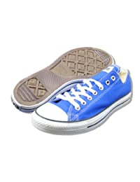 CONVERSE Men's All Star Ox (Dazzling Blue 12.0 M)
