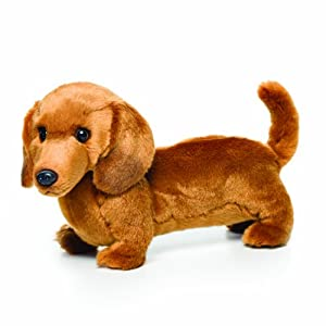 Nat and Jules Plush Toy, Dachshund, Large