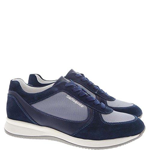 Samsonite SFM102134 Sneakers Uomo Camoscio/tessuto Blu Blu 46