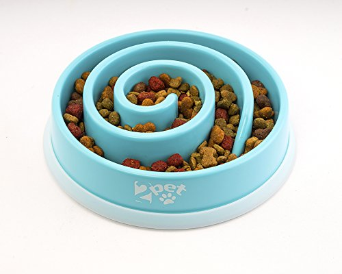 2PET  Slowly Bowly Slow Feed Dog Bowl (Dog Bowls Slow Feeders compare prices)