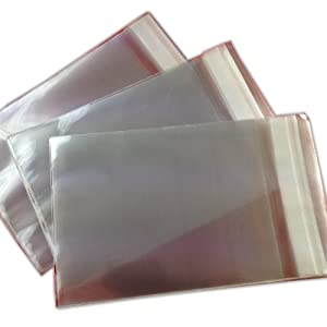 "250 5"" x 7"" Cello / Cellophane Bags for Cards / Display 138mm x 185mm"
