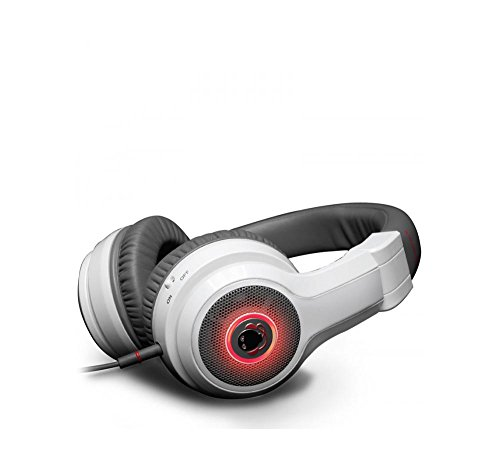 Boomphones Phantom Headphones With Boombox - White