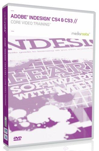 Adobe InDesign CS4 & CS3 Core Video Training (Mac/PC DVD)