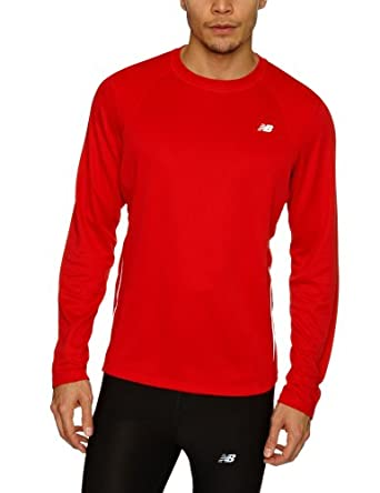 New Balance Tempo Longsleeve Top (MRT9119) 3XL/Chinese Red