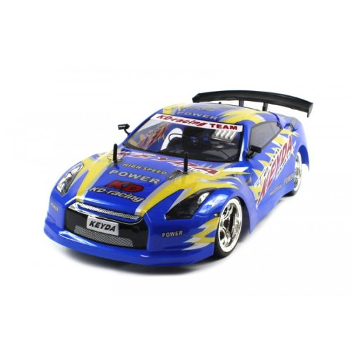 Electric Full Function 1:10 CT Speed Racing Nissan GTR 10+MPH RTR RC Car (Colors May Vary)