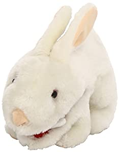 Toy Vault Rabbit Plush with Big Pointy Teeth