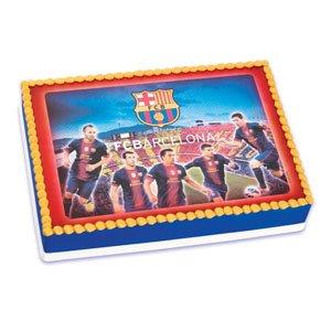 Amazon.com: Barcelona Soccer Edible Image: Toys & Games