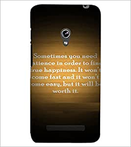 PrintDhaba Quote D-4922 Back Case Cover for ASUS ZENFONE 5 A501CG (Multi-Coloured)