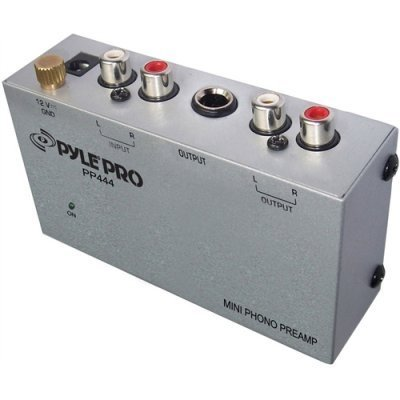 Cheap Pyle Pp444 Compact Phono / Turntable Preamp
