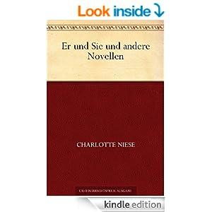 Er und Sie und andere Novellen (German Edition)