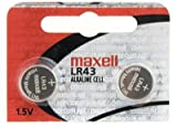 Online Fitness Maxell LR43 Replacement Batteries