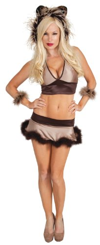Women's Sexy Cuddly Lion Costume