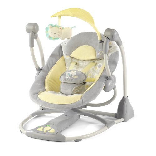 Best Buy! InGenuity Smart and Quiet Swing, Briarcliff
