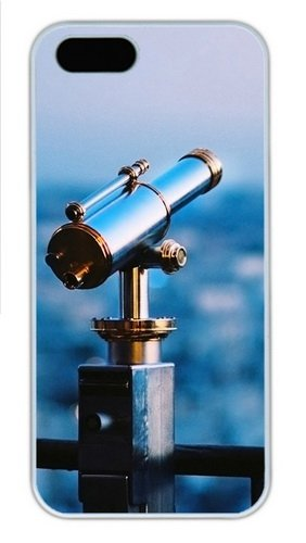 Astronomical Telescope Polycarbonate Plastic Iphone 5S And Iphone 5 Case Cover White