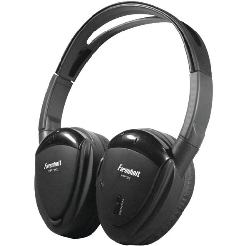 Brand New Power Acoustik 2-Channel Ir Wireless Headphones