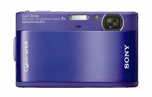 Sony DSCTX1L Cyber-shot Digital Camera - Blue (10.2MP, 4x Optical Zoom) 3 inch Touch Panel LCD Screen