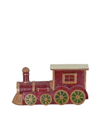 Fantastic Craft Resin Train Figurine, Red