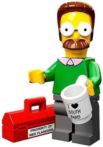 Lego 71005 The Simpson Series Ned Flanders Simpson Character Minifigures - 1
