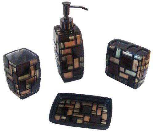 Veratyx Zepher 4-Piece Bath Set