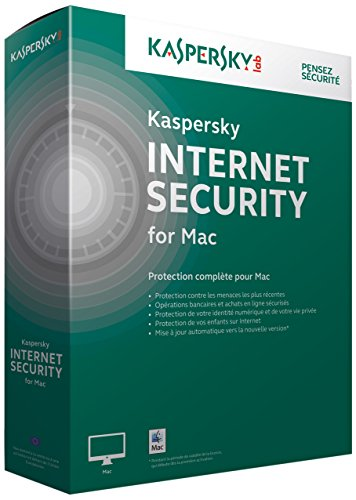 Kaspersky internet security 2015 (1 poste, 1 an) pour Mac