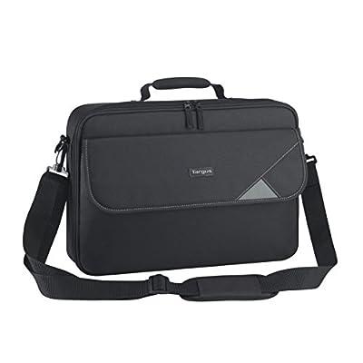 Targus TBC002EU Intellect Clamshell Laptop Bag / Case fits 15.6 inch Laptops, Black by Targus
