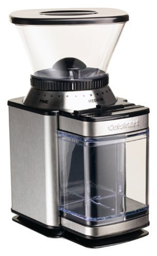 Cuisinart Supreme Grind Automatic Burr Mill With Elegant Stainless Steel Styling And 18-Position Grind Selector, Removable Grind Chamber Holds Enough Coffee For 32 Cups, With Automatic Shutoff