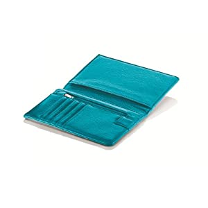 Travel Smart RFID Passport Wallet, Teal