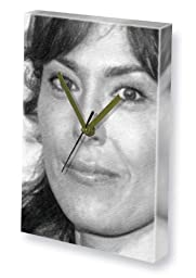 MICHELLE FORBES - Canvas Clock (LARGE A3 - Signed by the Artist) #js001