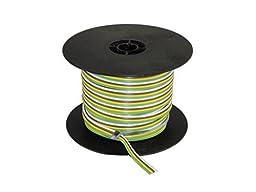 East Penn 02906 100\' 14 Gauge Ribbon Wire