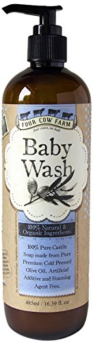 Four Cow Farm Baby Wash, 485 ml