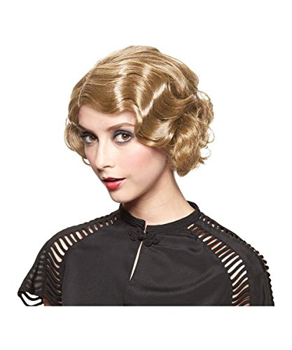 Golden Gatsby Girl Wig