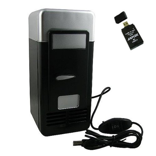 USB Cooler and Warmer Mini Beverage Refridgerator