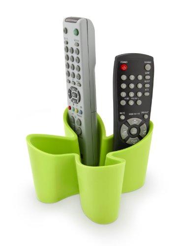 J-Me Original Design - Porta telecomandi in gomma, antiscivolo, colore: verde