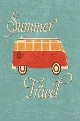My Travel Journal: Summer Camper Van, Travel Planner & Journal, 6 x 9, 139 Pages (Camper Rails compare prices)