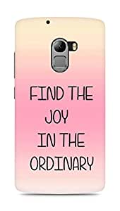 AMEZ find the joy in the ordinary Back Cover For Lenovo K4 Note