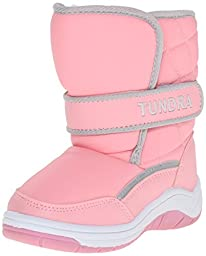 Tundra Snow Kids Boot (Toddler/Little Kid),Pink,9 M US Toddler