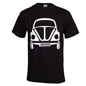 Vw Kafer Beetle Tee-black- Large from vw