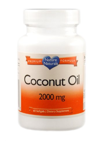 Coconut Oil, 100% Organic, Extreme Potency 2000mg Softgels, 120,000mg Per Bottle, Extreme Potency