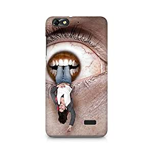 Mobicture Cat Premium Printed Case For Huawei Honor 4C