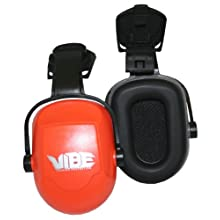 Jackson Safety H70 Vibe Capmount Earmuff, NRR 22, Orange